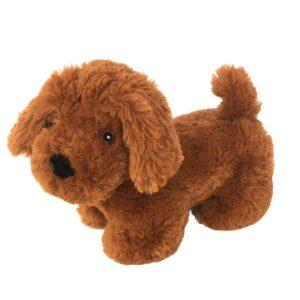 Knuffel hond bruin - ondersteun een goed doel